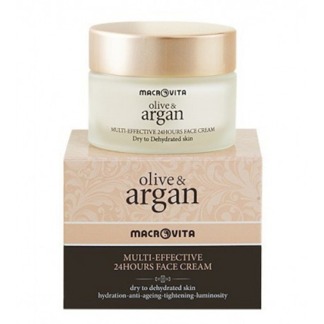 Крем с аргановым маслом для сухой кожи лица Macrovita Argan