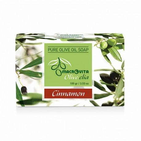 Органическое мыло с корицей Macrovita Olivelia