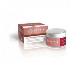 Увлажняющий крем для жирной и комбинированной кожи лица Elotia