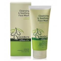 Успокаивающая маска для лица Macrovita Olivelia