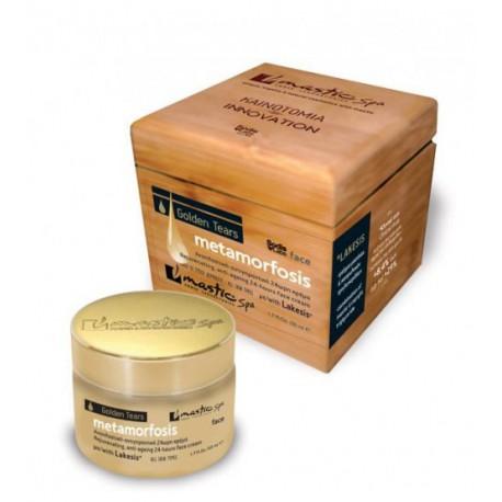 Органический 24-часовой крем для омоложения кожи лица Mastic Spa