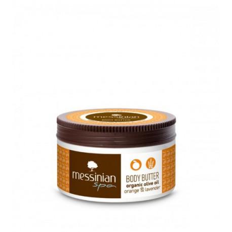 Натуральное масло для тела Messinian Spa с апельсином и лавандой