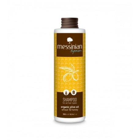 Шампунь для частого использования Messinian Spa с пшеницей и медом