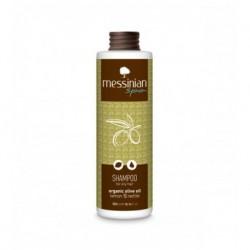 Шампунь против жирных волос Messinian Spa с лимоном и крапивой