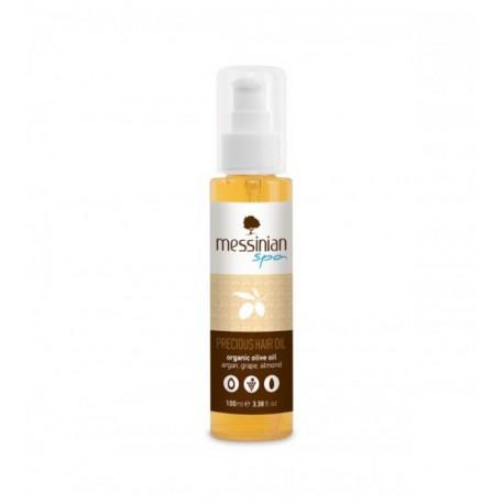Натуральное масло для ухода за волосами Messinian Spa