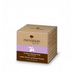 24-часовой увлажняющий крем для комбинированной и жирной кожи Messinian Spa