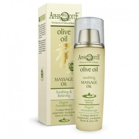 Натуралное успокаивающее массажное масло для тела Aphrodite