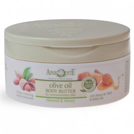 Крем-масло для тела с миндалем и медом Aphrodite