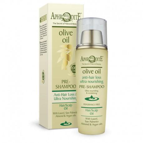 Успокаивающее масло для волос и кожи головы Aphrodite