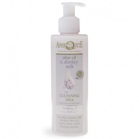 Успокаивающие и защитное очищающее молочко Aphrodite