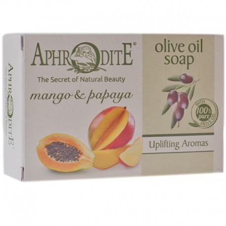 Оливковое мыло с манго и папайей Aphrodite