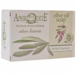 Оливковое мыло с оливковыми листьями Aphrodite