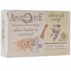 Оливковое мыло с маслом Ши и овсянкой Aphrodite