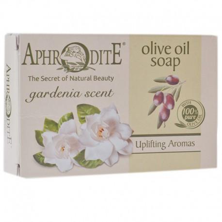 Оливковое мыло с ароматом гардении Aphrodite