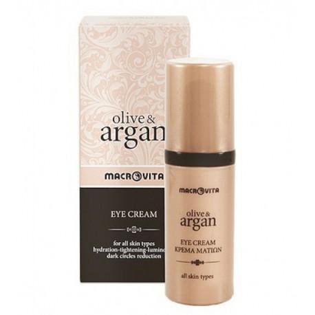 Органічний крем для шкіри навколо очей Macrovita Argan