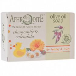 Оливковое мыло с ромашкой и календулой Aphrodite