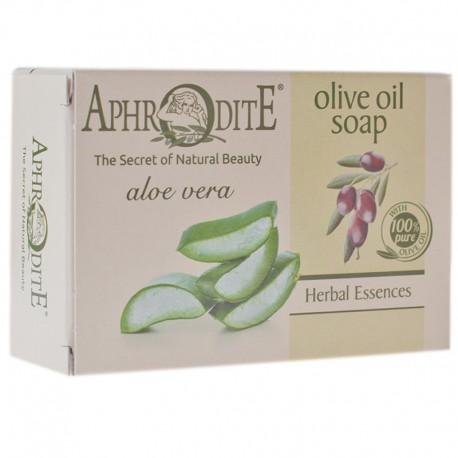 Оливковое мыло с алое вера Aphrodite