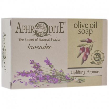 Оливковое мыло с маслом лаванды Aphrodite