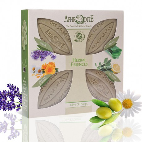 """""""Растительные эссенции"""" - подарочный набор 4 мыла Aphrodite"""