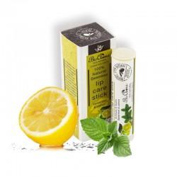 Гигиеническая помада на основе воска BioAroma с мятой и лимоном