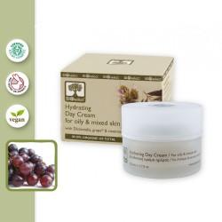 Увлажняющий крем для жирной кожи BIOselect