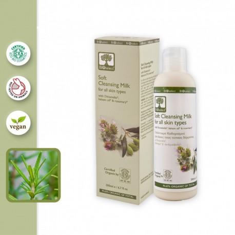 Органическое молочко для снятия макияжа BIOselect