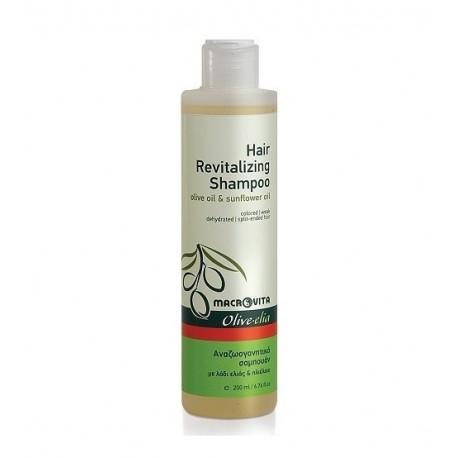 Лечебный шампунь для всех типов волос Macrovita Olivelia