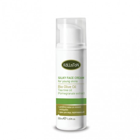 Натуральный легкий крем для молодой кожи Kalliston
