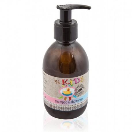 Натуральный шампунь и гель для душа для детей BioAroma