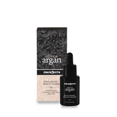 Натуральная сыворотка-эликсир для лица Macrovita Argan