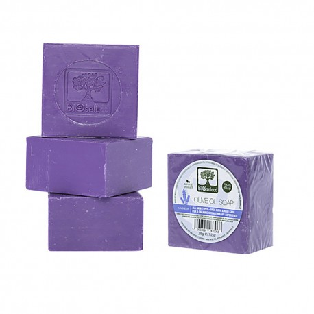 Органическое мыло BIOselect с лавандой (200 г.)
