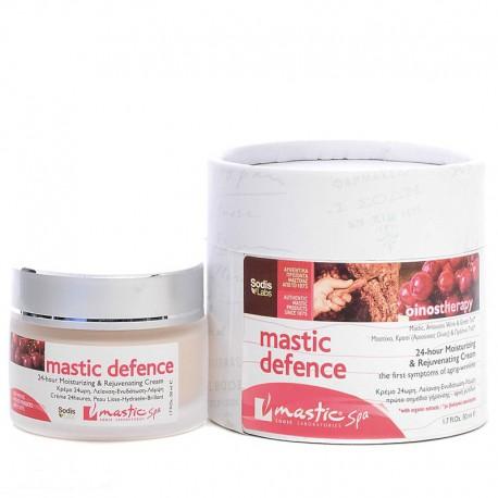 Органический крем для увядающей кожи лица Mastic Spa