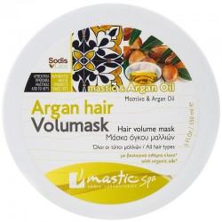 Маска с аргановым маслом Mastic Spa для объема волос