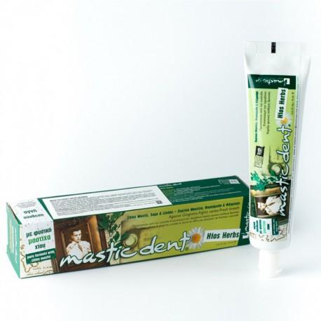 Натуральная зубная паста на травах Mastic Spa