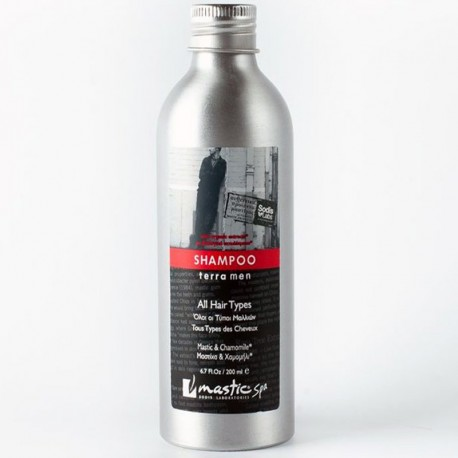 Органический мужской шампунь для всех типов волос Mastic Spa