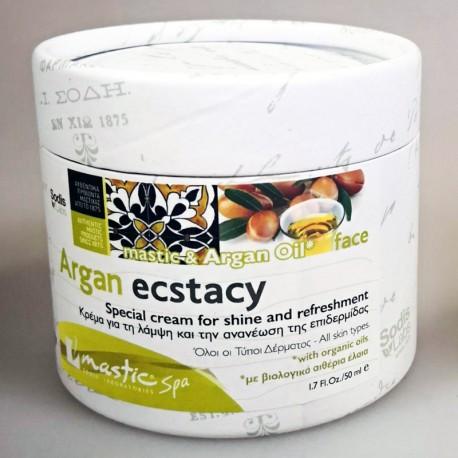Крем для лица Argan Ecstacy Mastic Spa