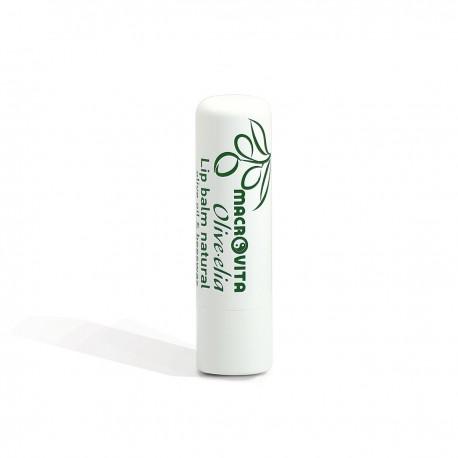 Увлажняющий натуральный бальзам для губ Macrovita Olivelia с SPF 10