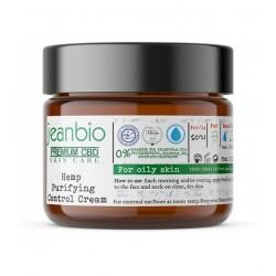JeanBio - Крем для проблемной кожи лица с конопляным маслом