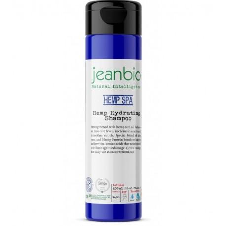 JeanBio - Увлажняющий шампунь с маслом семян конопли