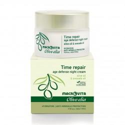 Антивозрастной крем для лица Macrovita Olivelia