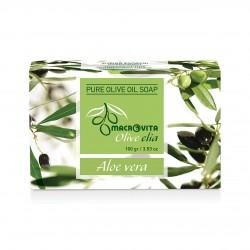 Натуральное оливковое мыло с Алое Вера от Macrovita Olivelia