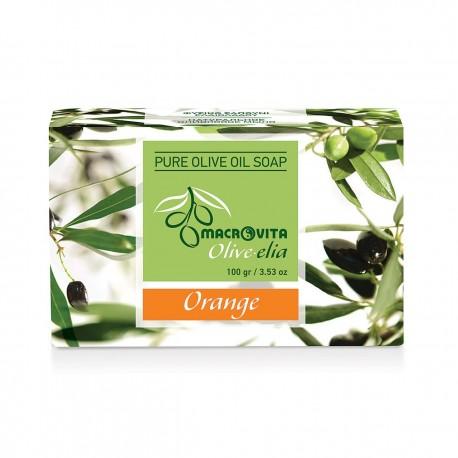 Апельсиновое мыло Macrovita Olivelia