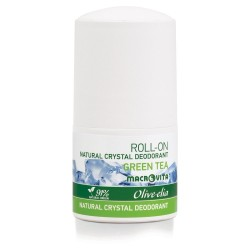 Натуральный шариковый дезодорант Green Tea Macrovita