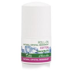 Натуральный шариковый дезодорант Cotton Macrovita