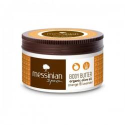 Натуральное масло для тела Messinian Spa с апельсином и лавандой 80 мл